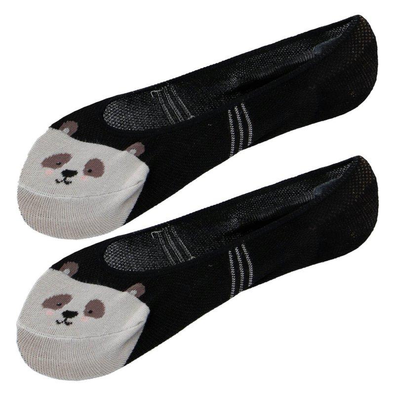 Ponožky do balerín Aura via Panda  38-41, černá