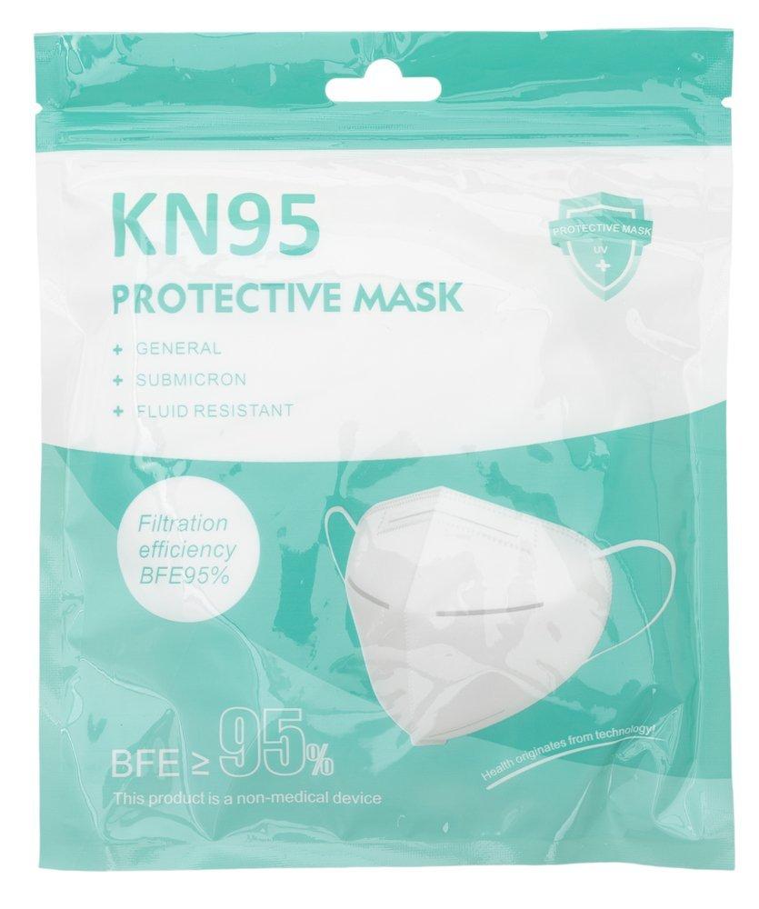 Ochranná antivirová maska KN95 FFP2 - 5ks