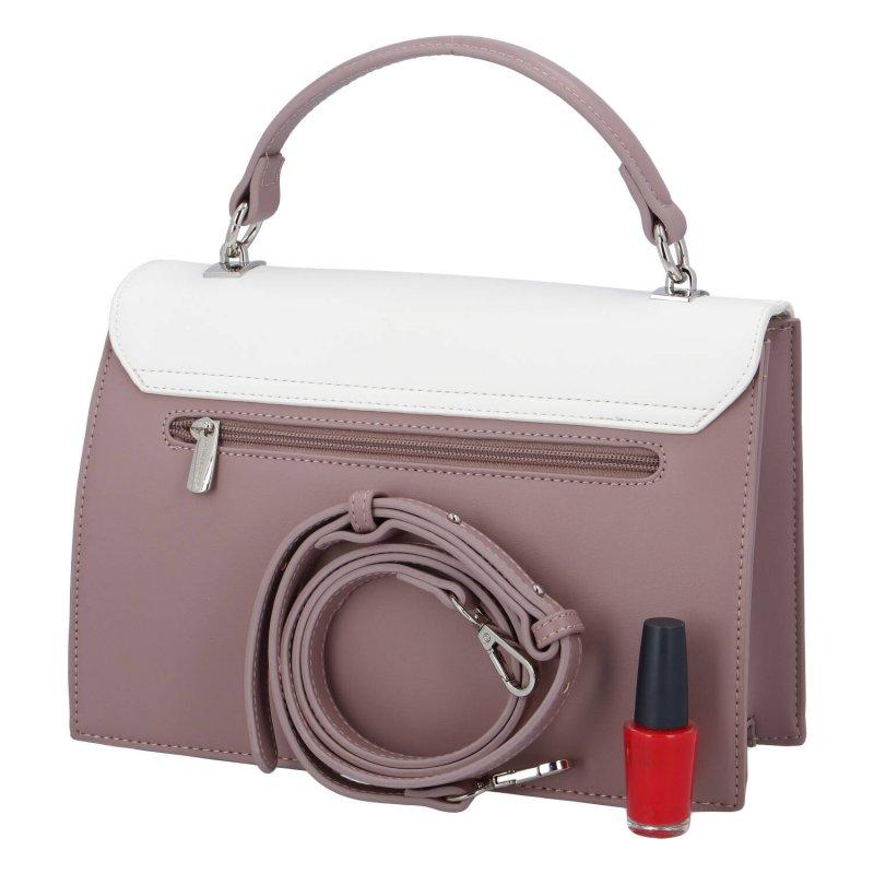 Praktická dámská kabelka Isidora D., světle purpurová