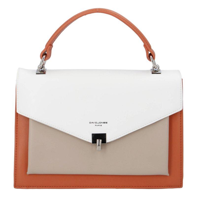Praktická dámská kabelka Isidora D., oranžová