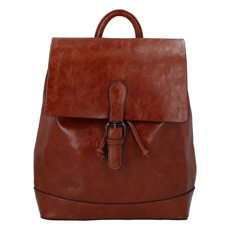 Dámský městský batoh Irina S., hnědý