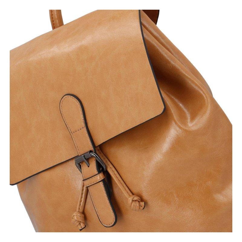 Dámský městský batoh Irina S., světle hnědý