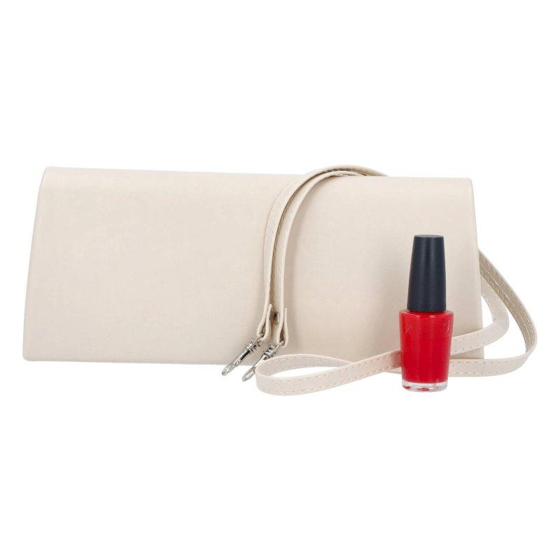 Společenská dámská kabelka Sisi S., béžová