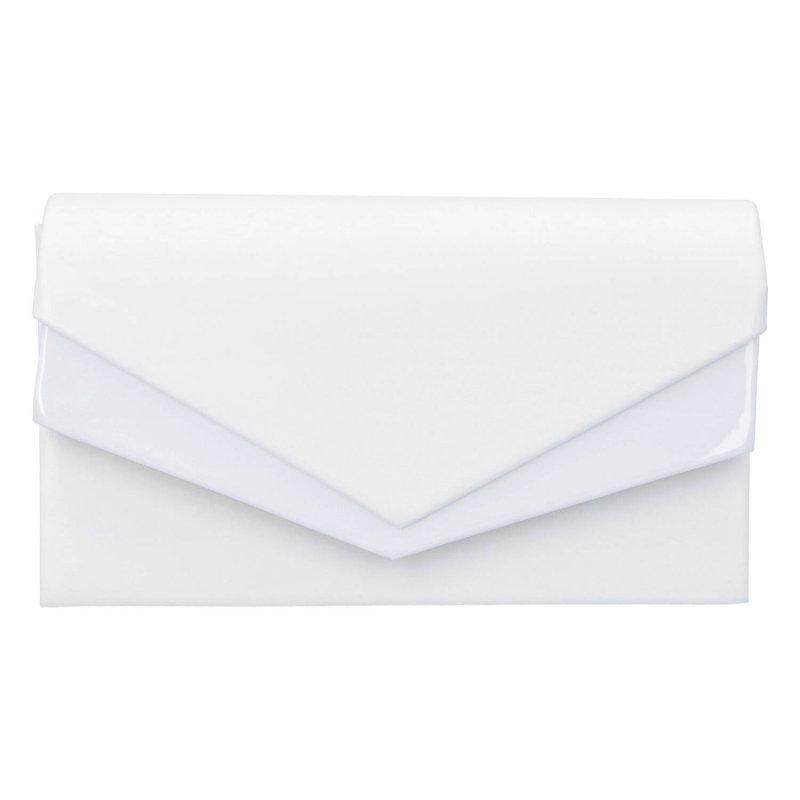 Společenská kabelka Franklin K., bílá