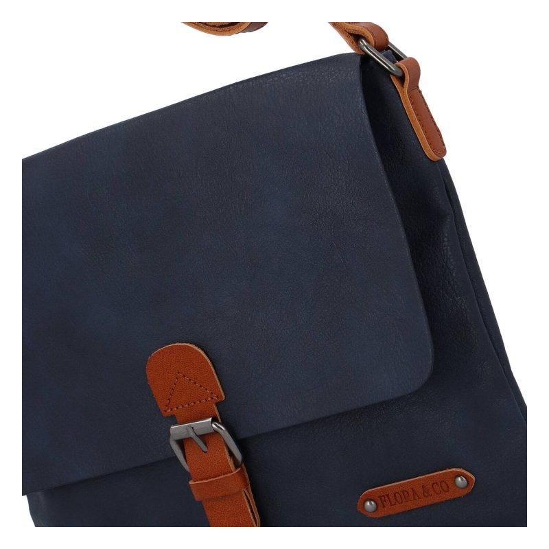 Dámská crossbody kabelka Flora, modrá