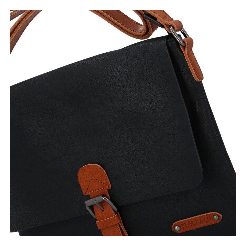 Dámská crossbody kabelka Flora, černá