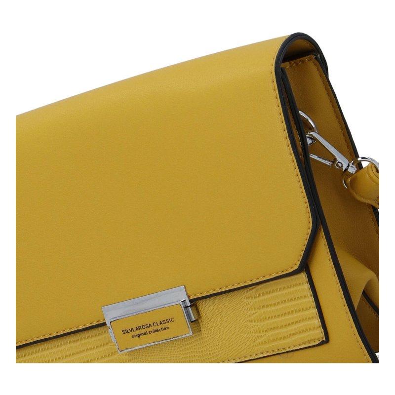 Praktická dámská crossbody kabelka Silva R., žlutá