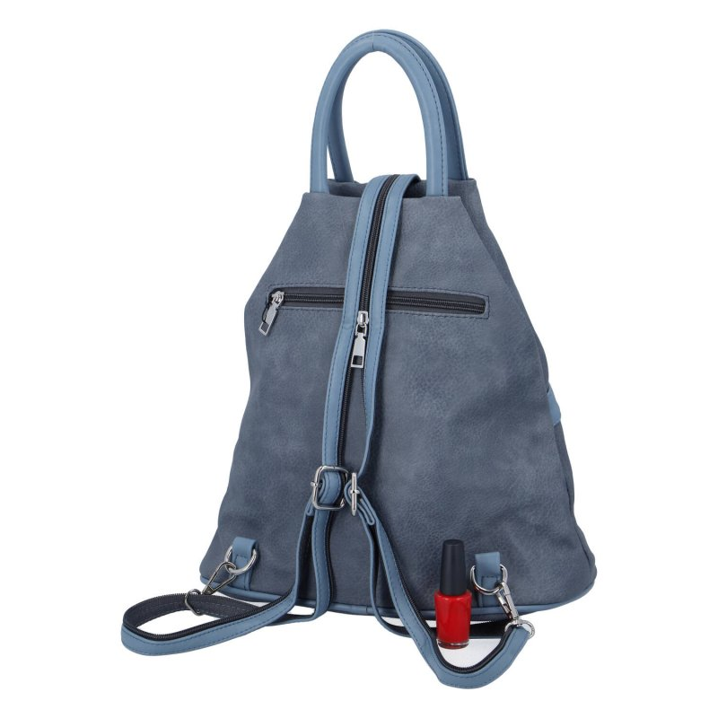 Praktický městský batoh Cindy D., modrý