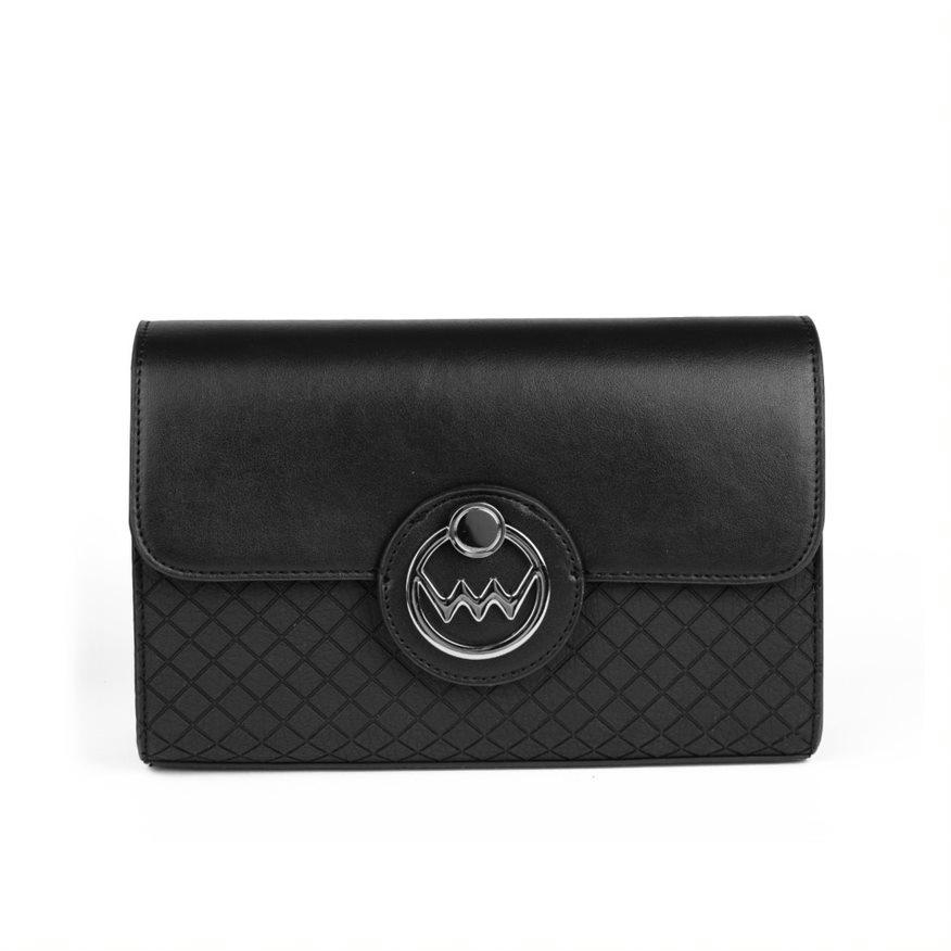 Dámská koženková kabelka VUCH Brigitte, černá