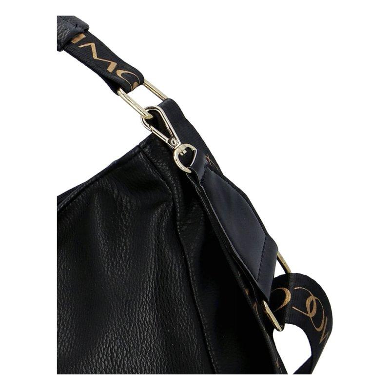 Designová dámská kabelka Mass.Con., černá