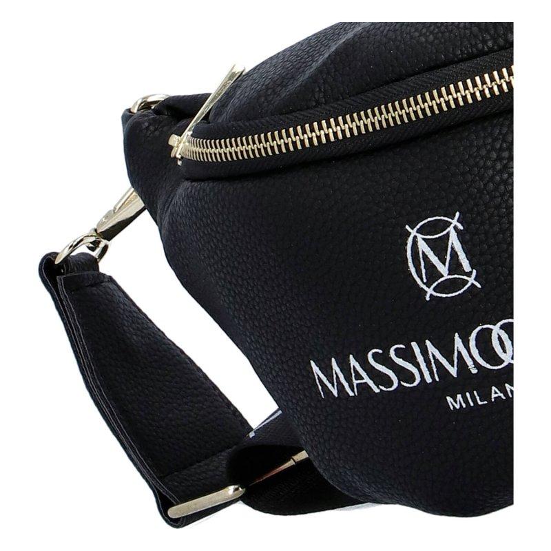 Praktická dámská koženková ledvinka MASSIMO CONTTI Yes, černá