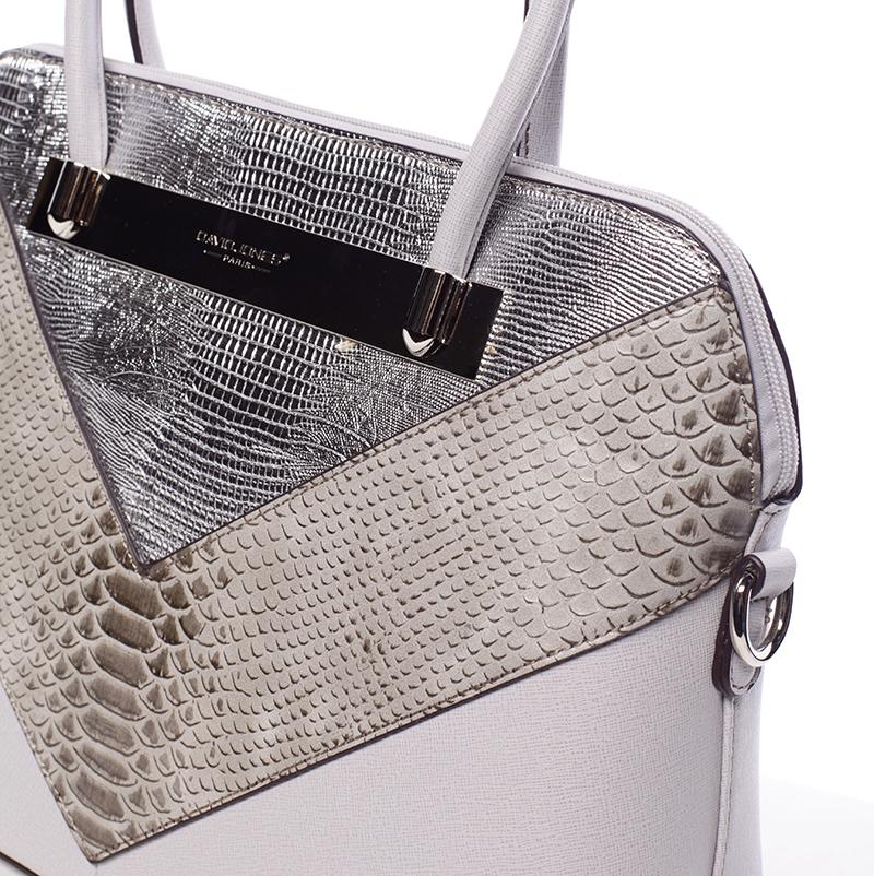 Elegantní dámská kabelka Seana, šedá