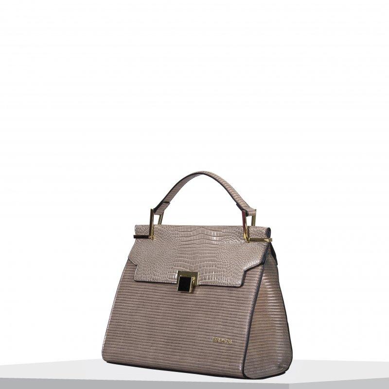 Moderní dámská koženková kabelka BULAGGI Liatris, béžová