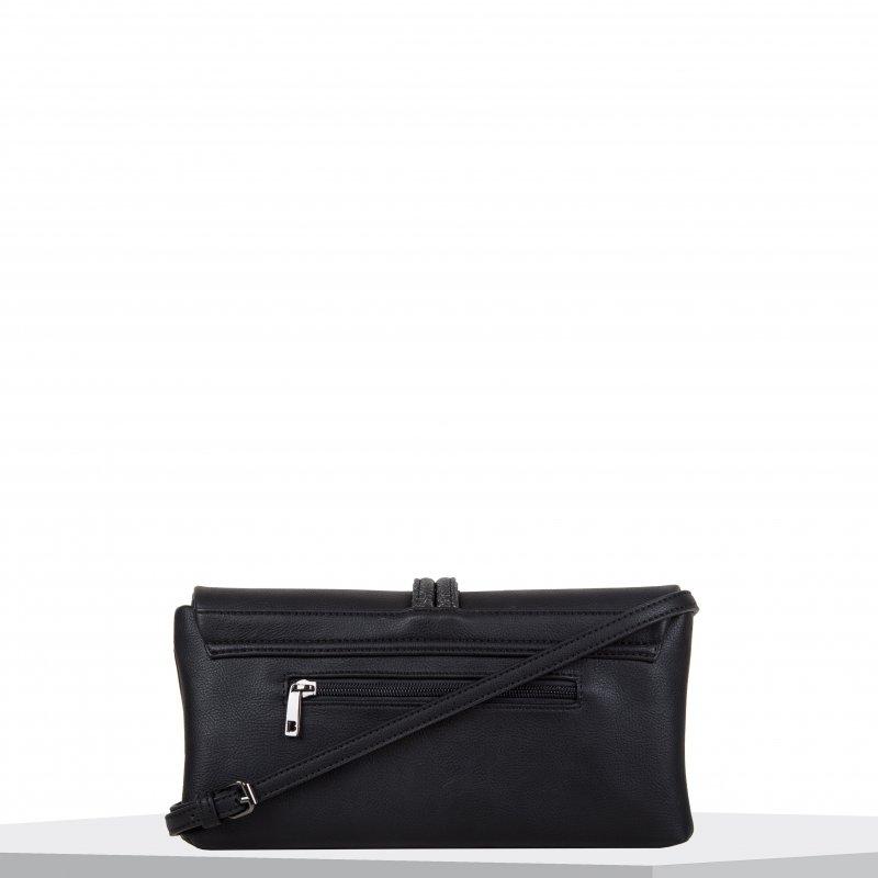 Luxusní dámská společenská kabelka BULAGGI Bibis, černá