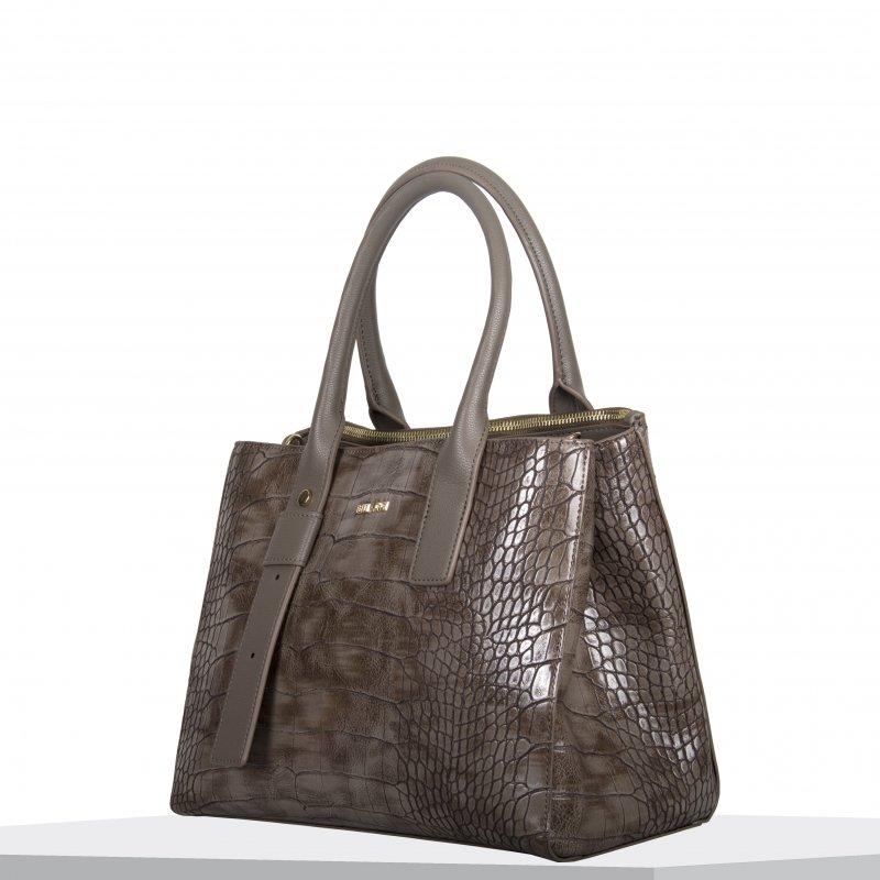 Dámská koženková kabelka BULAGGI shopping Iris, béžová