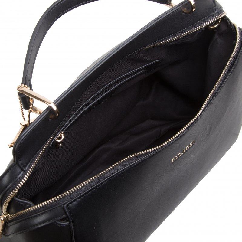 Luxusní dámská koženková kabelka BULAGGI Kayla, černá