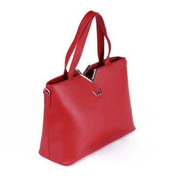 Trendová dámská kabelka VUCH Cypris, červená