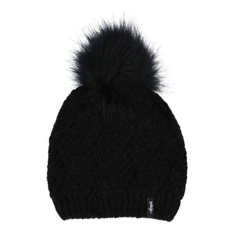 Dámská čepice Mia, černá
