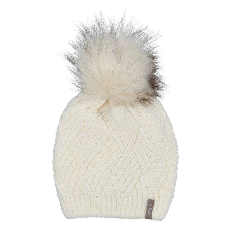 Dámská čepice Mia, krémová