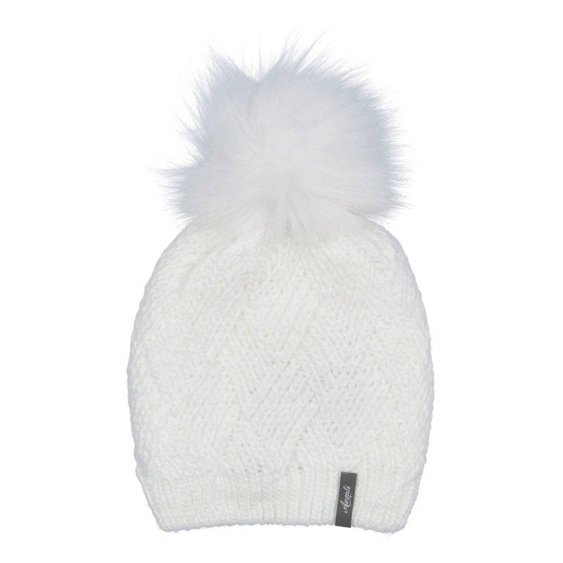 Dámská čepice Mia, bílá