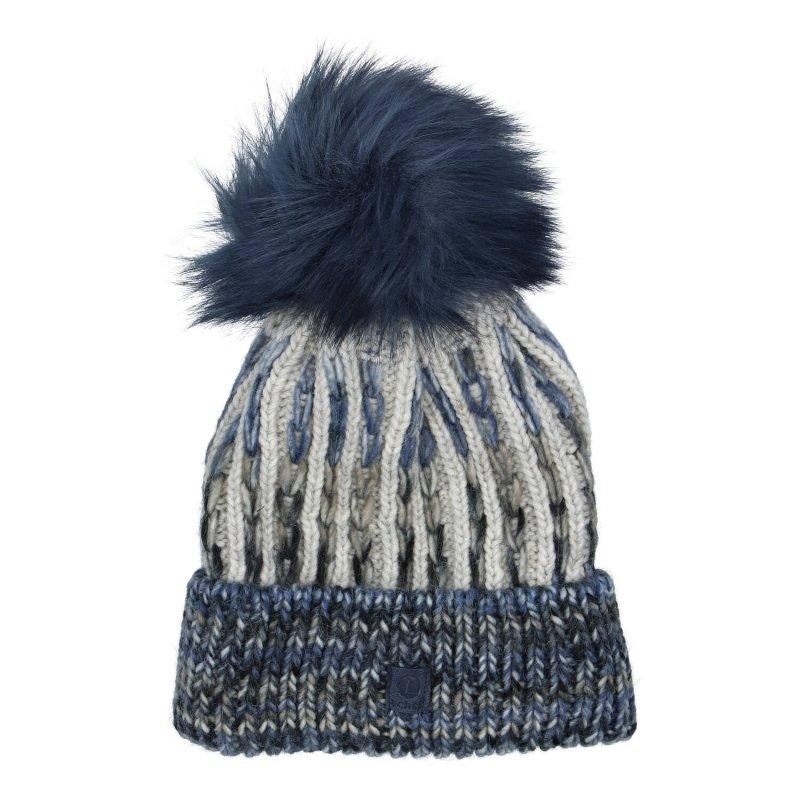 Dámská čepice Anja, modrá