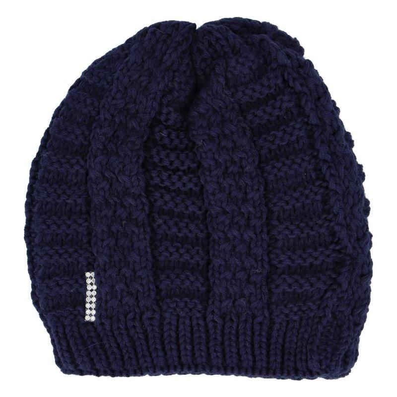 Dámská čepice Ida, tmavě modrá