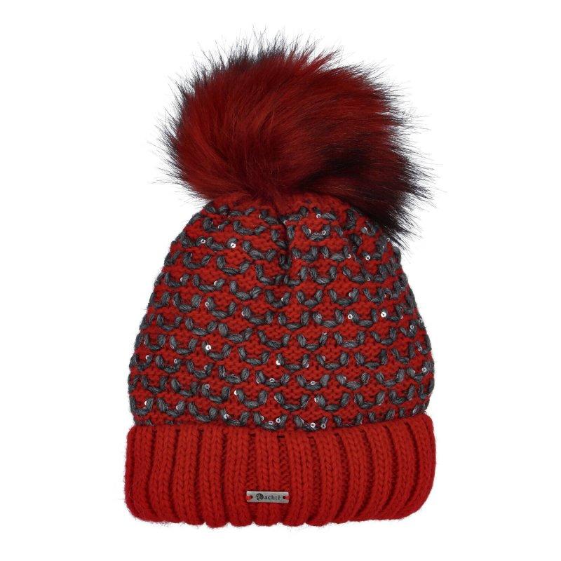 Dámská čepice Bea, červená