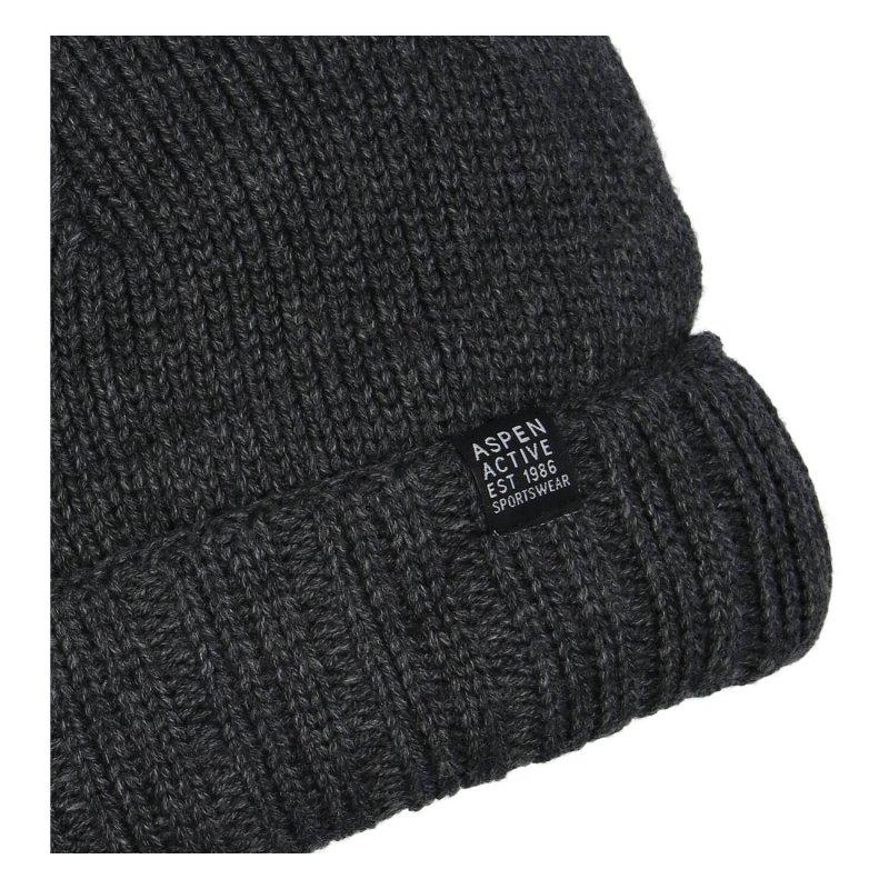 Čepice Aspen, tmavě šedá