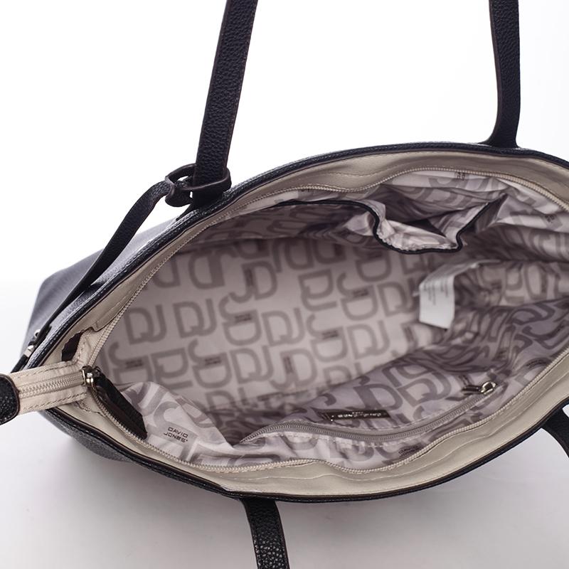 Trendová kabelka do ruky Amira, černá