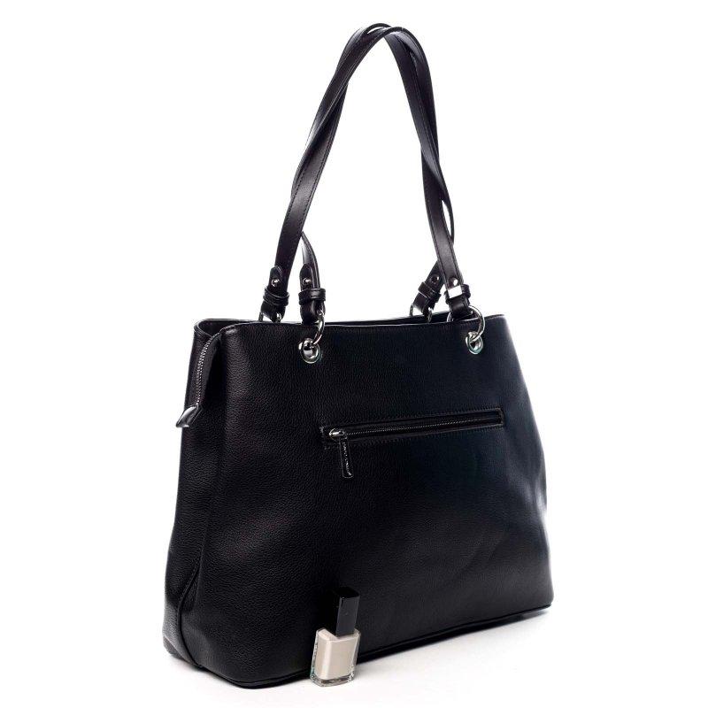 Velká praktická dámská taška Glorie černá
