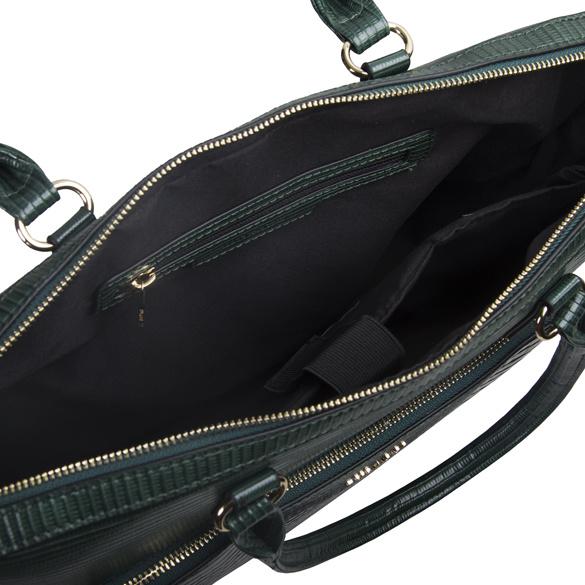 Dámská koženková kabelka BULAGGI Laptop Liatris, zelená