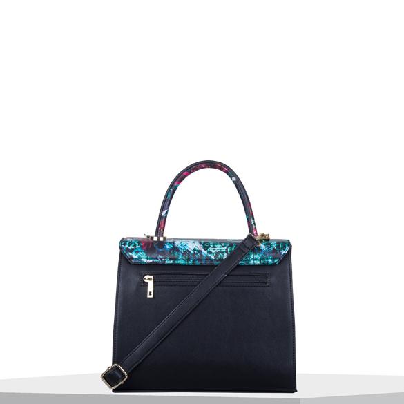 Dámská koženková kabelka BULAGGI Orchid do ruky, mix barev