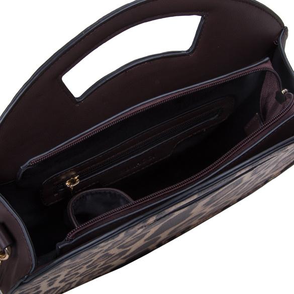 Dámská koženková kabelka BULAGGI Leo, hnědá
