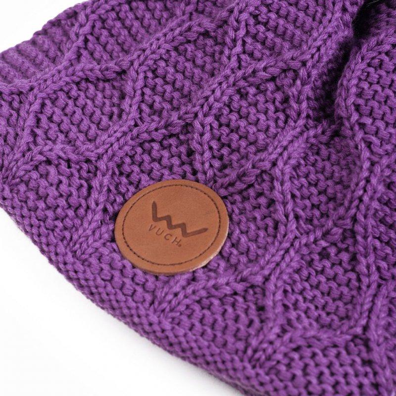 Čepice VUCH Wooly, fialová
