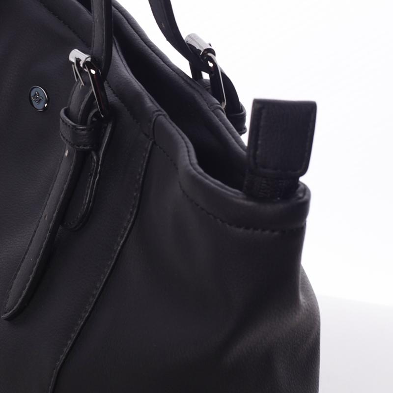 Dámská trendová basic kabelka do ruky Lonnie, černá