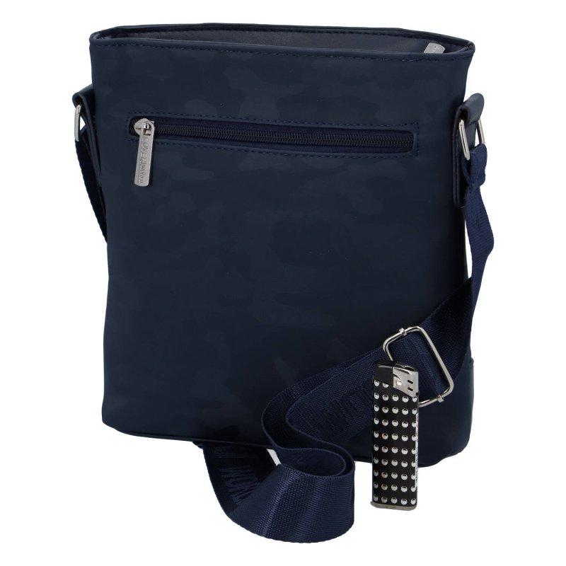 Univerzální menší sportovní taška Coveri Safari, modrá