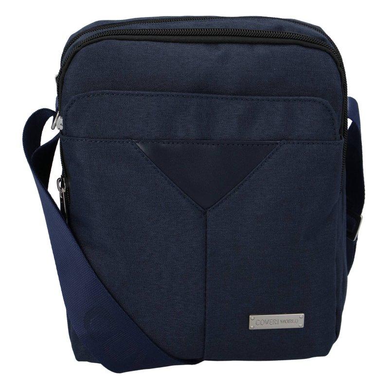 Menší sportovní taška Coveri Timmy, modrá