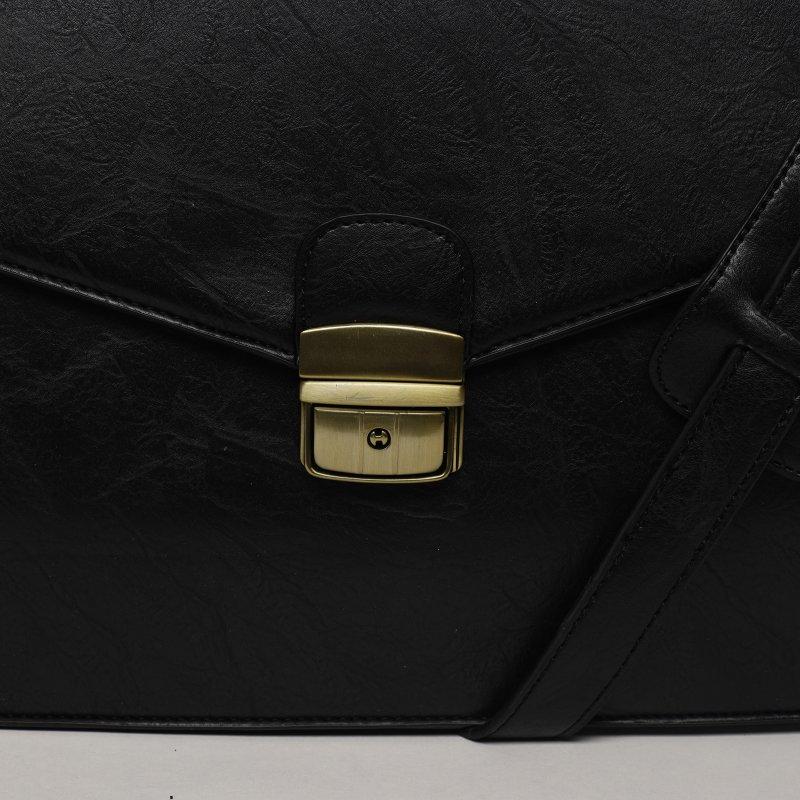 Příjemná a praktická pracovní pánská taška Olivia černá