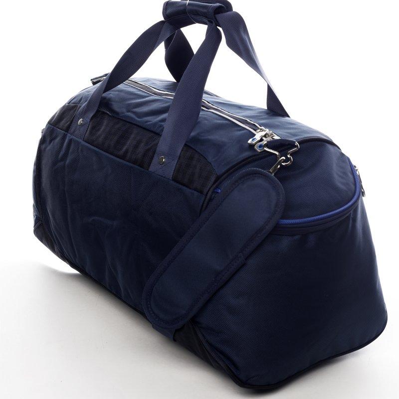 Praktická universální sportovní taška Amber modrá