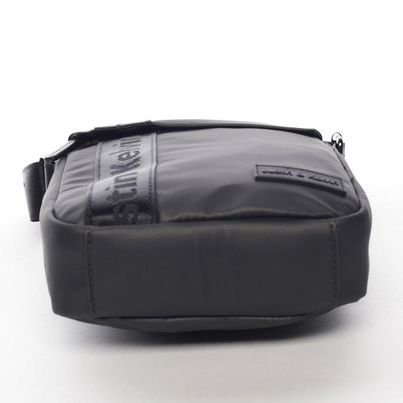Sportovní látková pánská taška Kate šedá