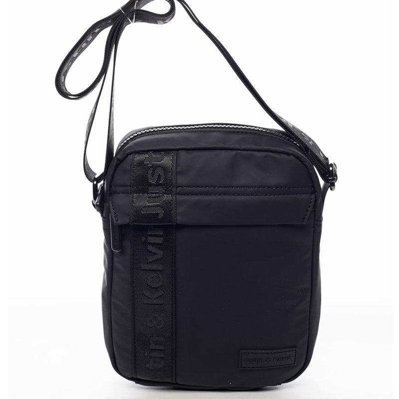 Sportovní látková pánská taška Kate černá