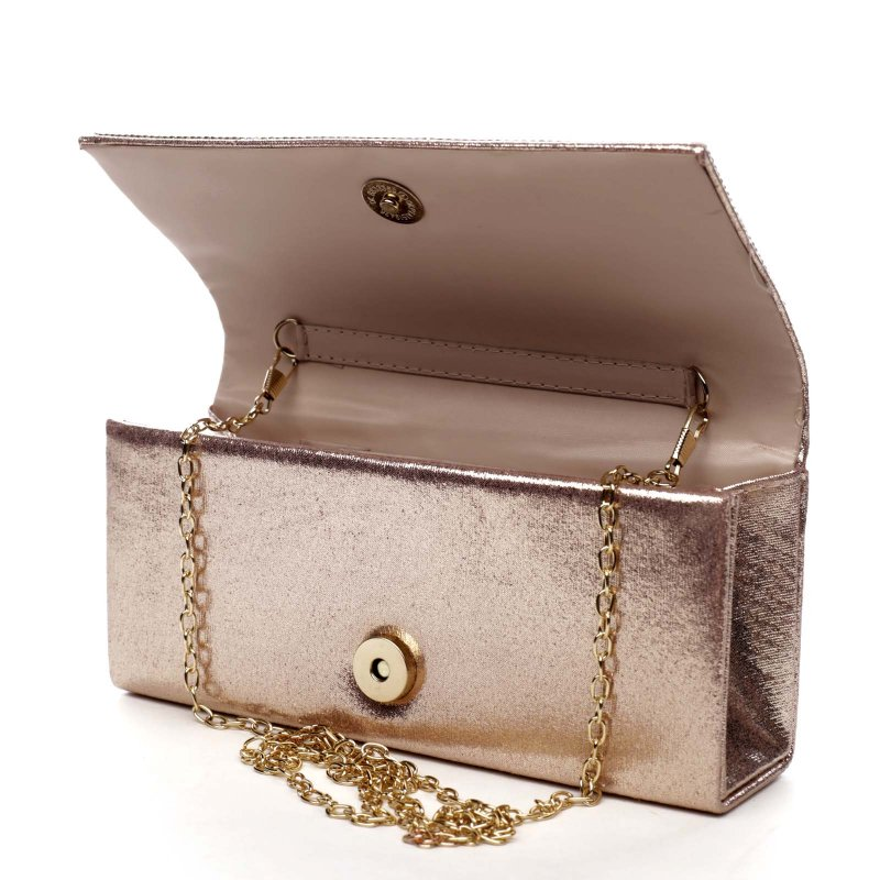 Plesová kabelka Brianna, růžově zlatá