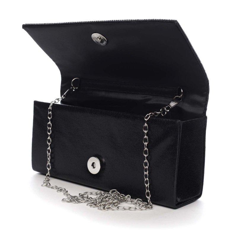 Plesová kabelka Brianna, černá