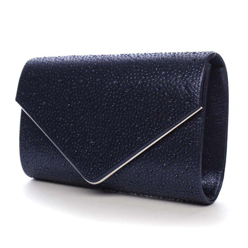 Dámská plesová kabelka Scarlett, tmavě modrá
