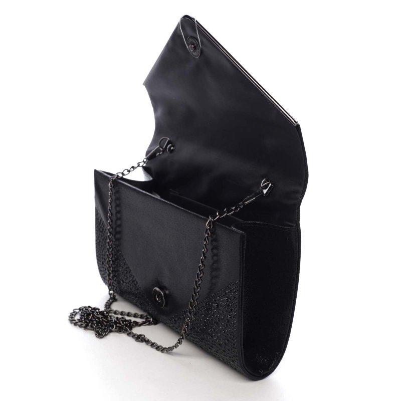 Dámská plesová kabelka Scarlett, černá