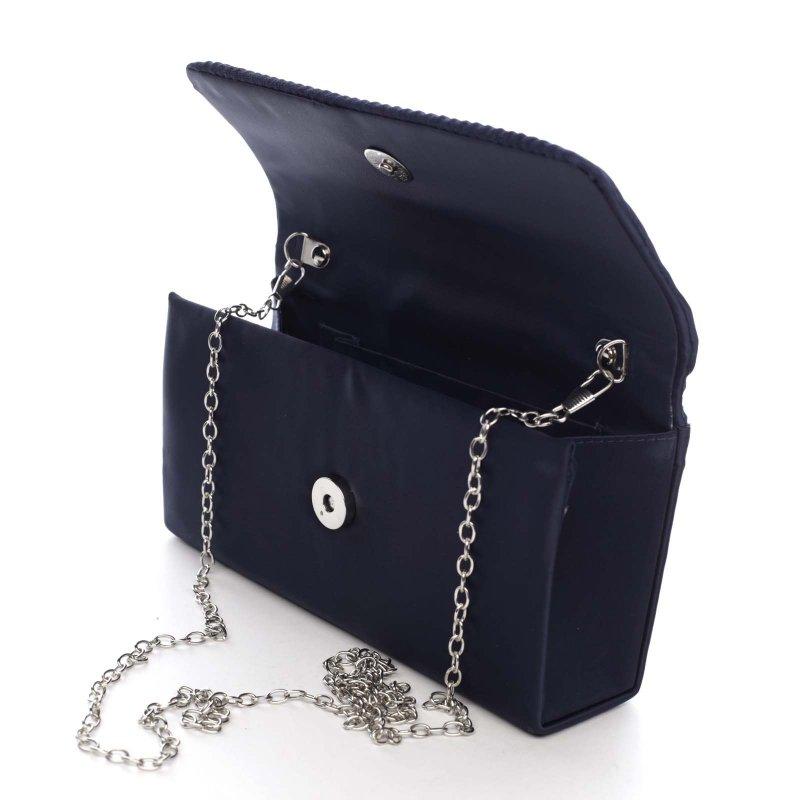 Dámská společenská kabelka Chantelle, tmavě modrá