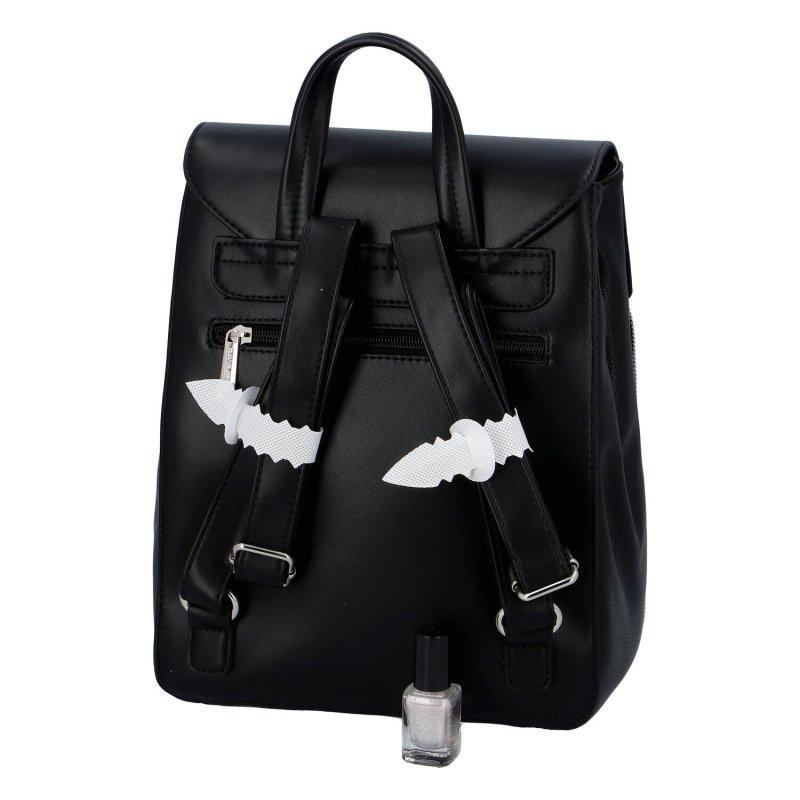 Praktický dámský batůžek Yasmin, černý