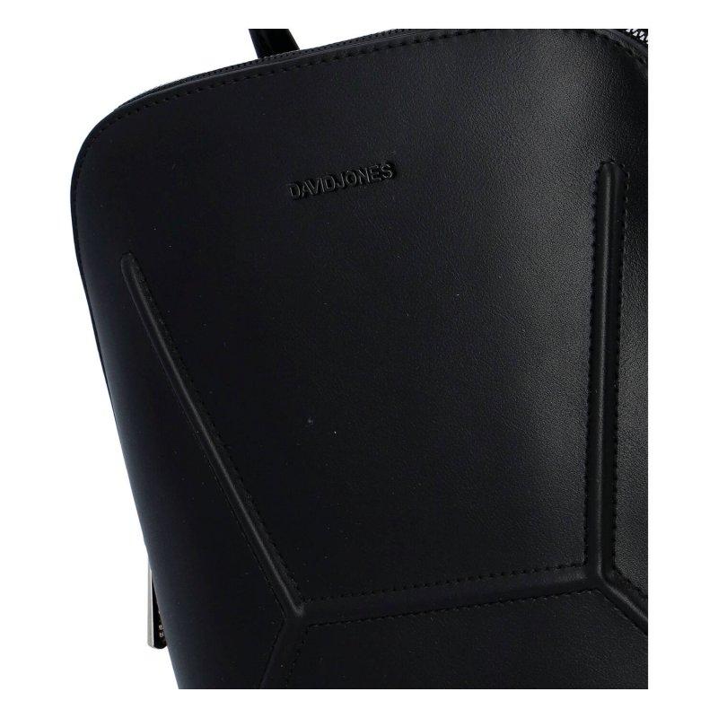 Moderní dámský batůžek Milie, černý