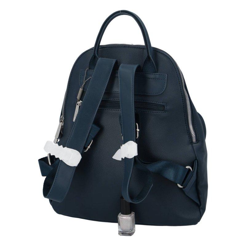 Dámský moderní batůžek Amber, modrý