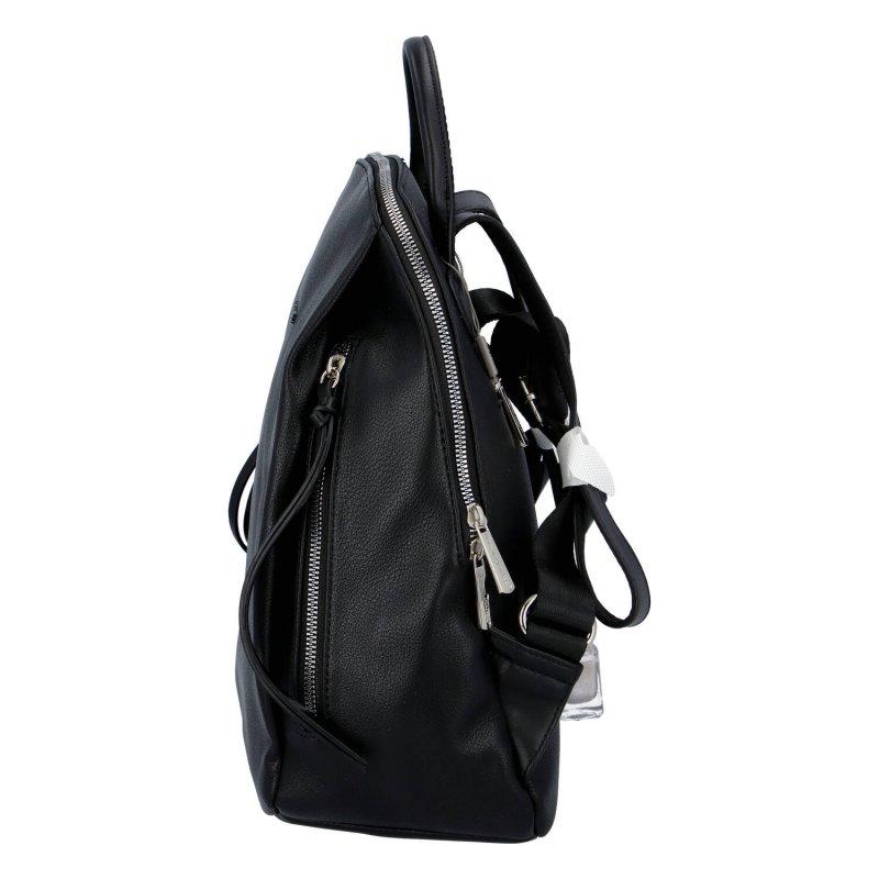 Dámský moderní batůžek Amber, černý